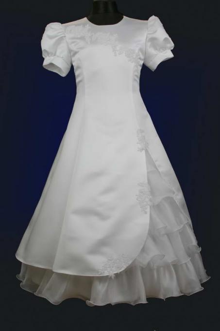 152 Wunderschönes Kommunionskleid Gr Mädchen