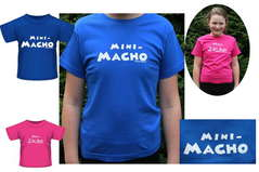 Baby T-Shirt MINI MACHO Gr.62-140 Royalblau